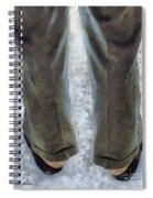 No Socks In The Snow Spiral Notebook