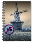 No Tilting At Windmills Spiral Notebook