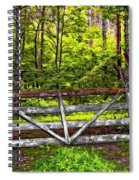 No Trespassing Spiral Notebook