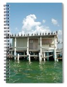 No Vacancy At The Stilt House Spiral Notebook