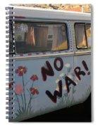 No War Spiral Notebook