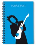 No009 My Prince Minimal Music Poster Spiral Notebook