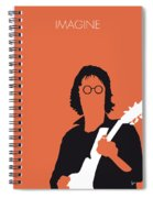 No013 My John Lennon Minimal Music Poster Spiral Notebook
