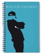 No025 My Beastie Boys Minimal Music Poster Spiral Notebook