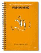 No054 My Nemo Minimal Movie Poster Spiral Notebook