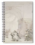 No.0613 The West Room And The Dome Room Spiral Notebook