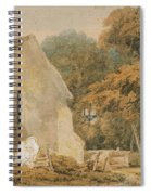 No.0735 A Country Churchyard, C.1797-98 Spiral Notebook