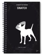 No079 My Snatch Minimal Movie Poster Spiral Notebook