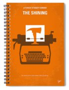 No094 My The Shining Minimal Movie Poster Spiral Notebook