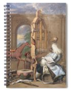 No.0961 The Charming Brute Spiral Notebook