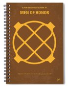 No099 My Men Of Honor Minimal Movie Poster Spiral Notebook