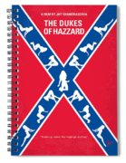 No108 My The Dukes Of Hazzard Movie Poster Spiral Notebook