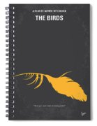No110 My Birds Movie Poster Spiral Notebook