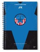 No111 My Jfk Movie Poster Spiral Notebook