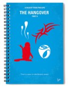 No145 My The Hangover Part 2 Minimal Movie Poster Spiral Notebook