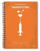No152 My Trainspotting Minimal Movie Poster Spiral Notebook