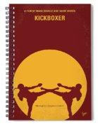 No178 My Kickboxer Minimal Movie Poster Spiral Notebook