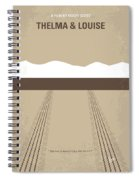 No189 My Thelma And Louise Minimal Movie Poster Spiral Notebook