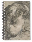Couple In An Embrace Spiral Notebook