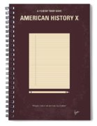 No247 My American History X Minimal Movie Poster Spiral Notebook