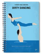 No298 My Dirty Dancing Minimal Movie Poster Spiral Notebook