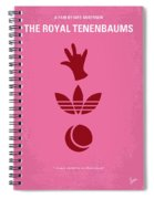No320 My The Royal Tenenbaums Minimal Movie Poster Spiral Notebook