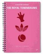No320 My The Royal Tenenbaums Minimal Movie Poster Spiral Notebook