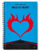 No337 My Wild At Heart Minimal Movie Poster Spiral Notebook
