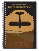 No361 My The English Patient Minimal Movie Poster Spiral Notebook