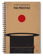 No381 My The Prestige Minimal Movie Poster Spiral Notebook
