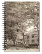 No.3933.f8 View Of The Stables On Lord Spiral Notebook