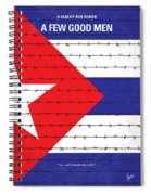 No417 My A Few Good Men Minimal Movie Poster Spiral Notebook