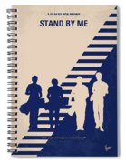 No429 My Stand By Me Minimal Movie Poster Spiral Notebook