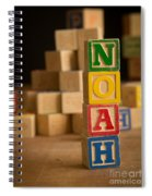 Noah - Alphabet Blocks Spiral Notebook