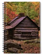Noah Ogle Place In The Smoky Mountains Spiral Notebook