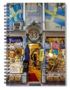 Noble Souvenirs. Stockholm 2014 Spiral Notebook