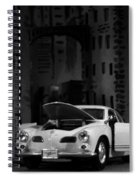 Noir City Spiral Notebook