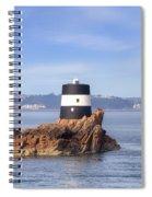 Noirmont Point Tower - Jersey Spiral Notebook