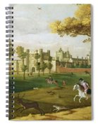 Nonsuch Palace In The Time Of King Spiral Notebook