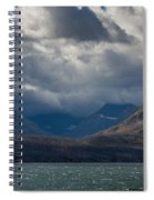 Noontide At St. Mary Lake Spiral Notebook