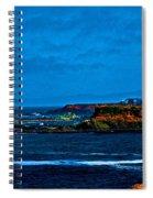 Nor Cal Seascape Spiral Notebook