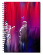 Norah Jones On Stage Spiral Notebook