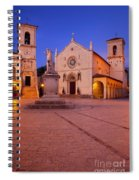Norcia Umbria Spiral Notebook