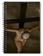 Nordic Crucifix Spiral Notebook