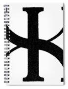 Nordic Rune Gilch Spiral Notebook
