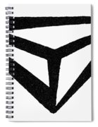 Nordic Rune Spiral Notebook