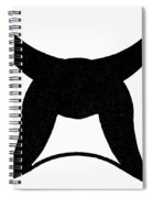 Nordic Symbol Horns Spiral Notebook
