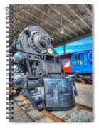 Norfolk And Western 1218 And 1776 Spiral Notebook