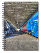Norfolk And Western 1776 And 1218 Spiral Notebook