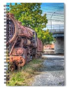 Norfolk And Western Class M2c  No 1151 Spiral Notebook